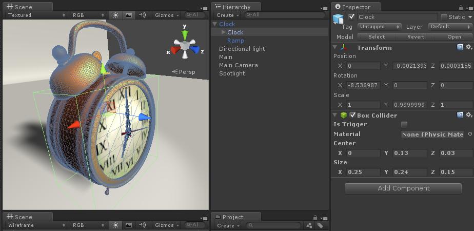 Interactive Clock [Gestureworks Core Wiki]